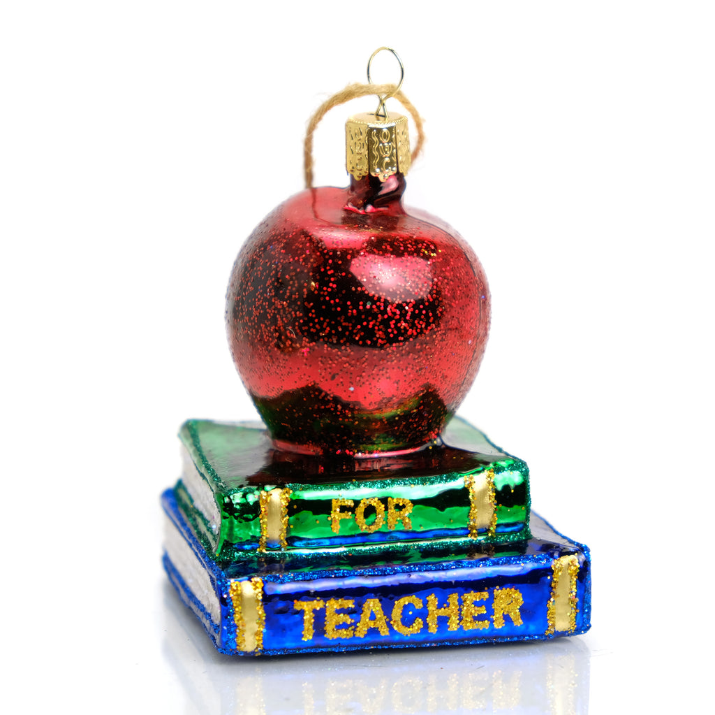 Apple for My Teacher Ornament