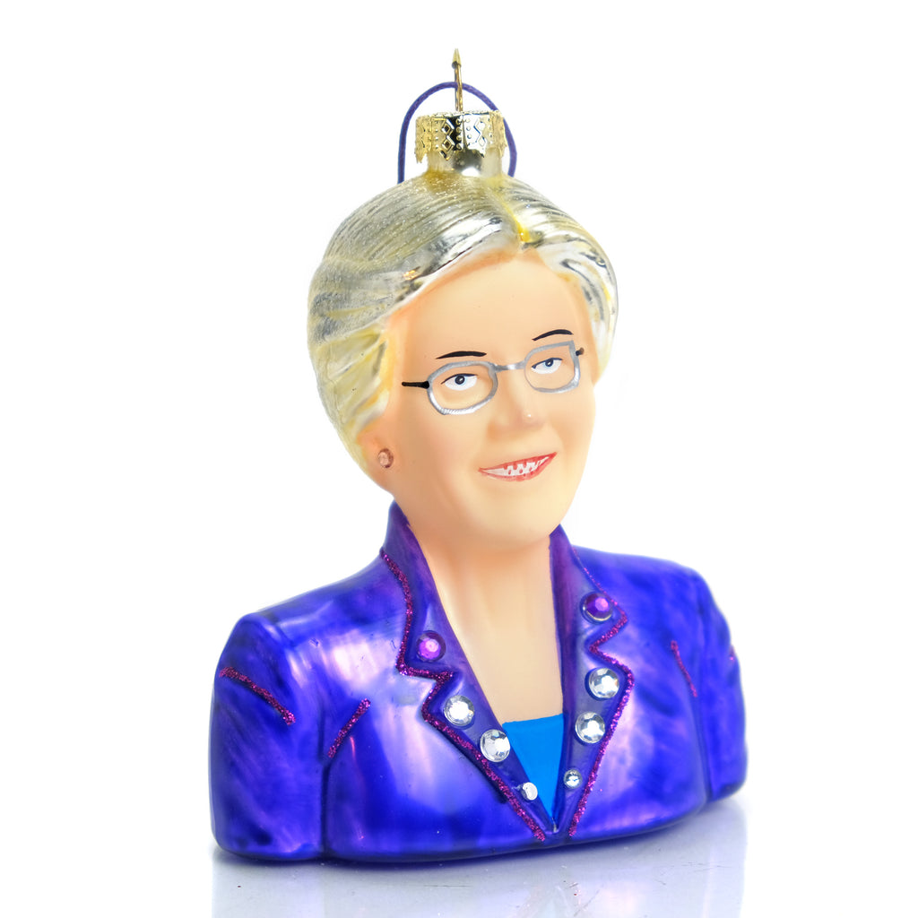 Elizabeth Warren Ornament