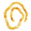 Butterscotch Amber Nugget Necklace #4