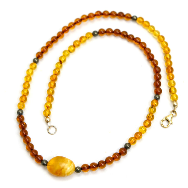 Amber Necklace #6