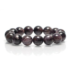 Amethyst Cacoxenite Stretch Bracelet 12mm,13mm,14mm