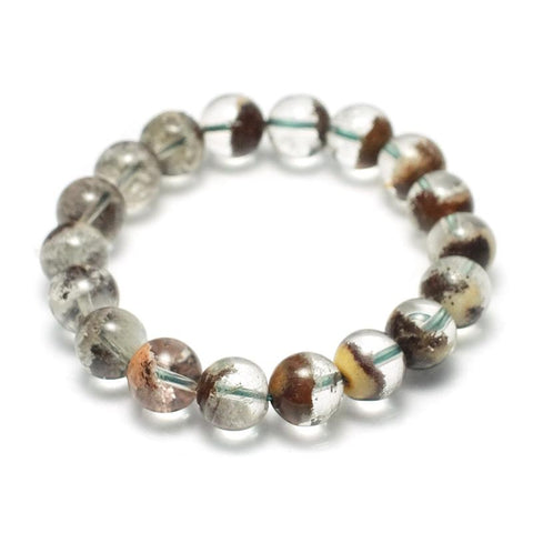 Garden Quartz Stretch Bracelet 12mm, 14mm