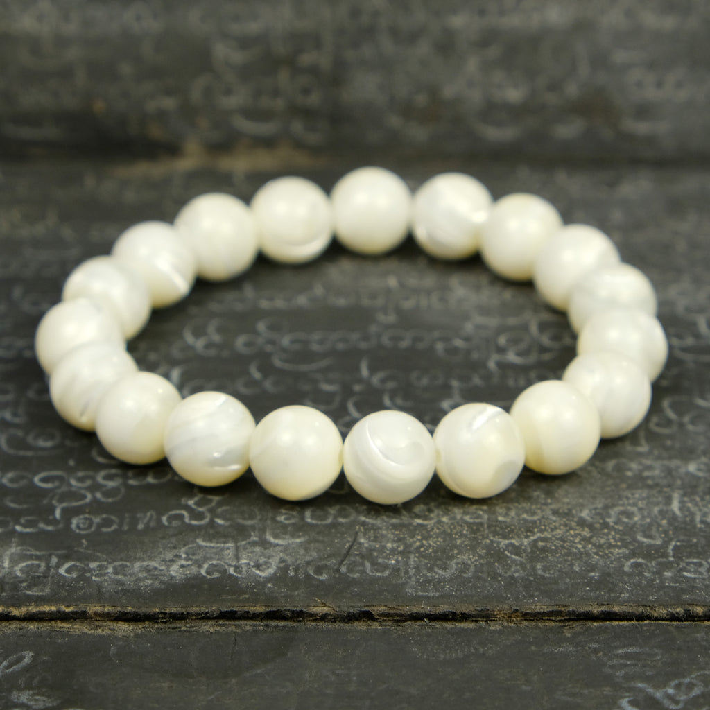 Mother of Pearl Stretch Bracelet