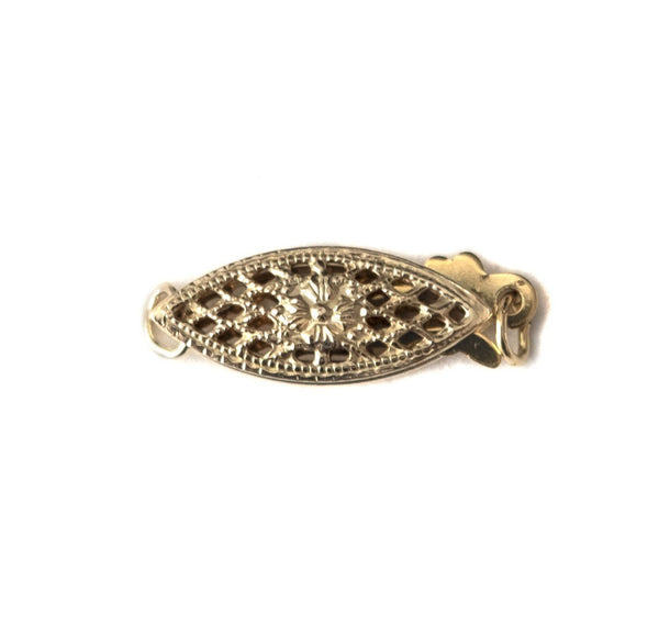 Gold Filled Oval Box Clasp