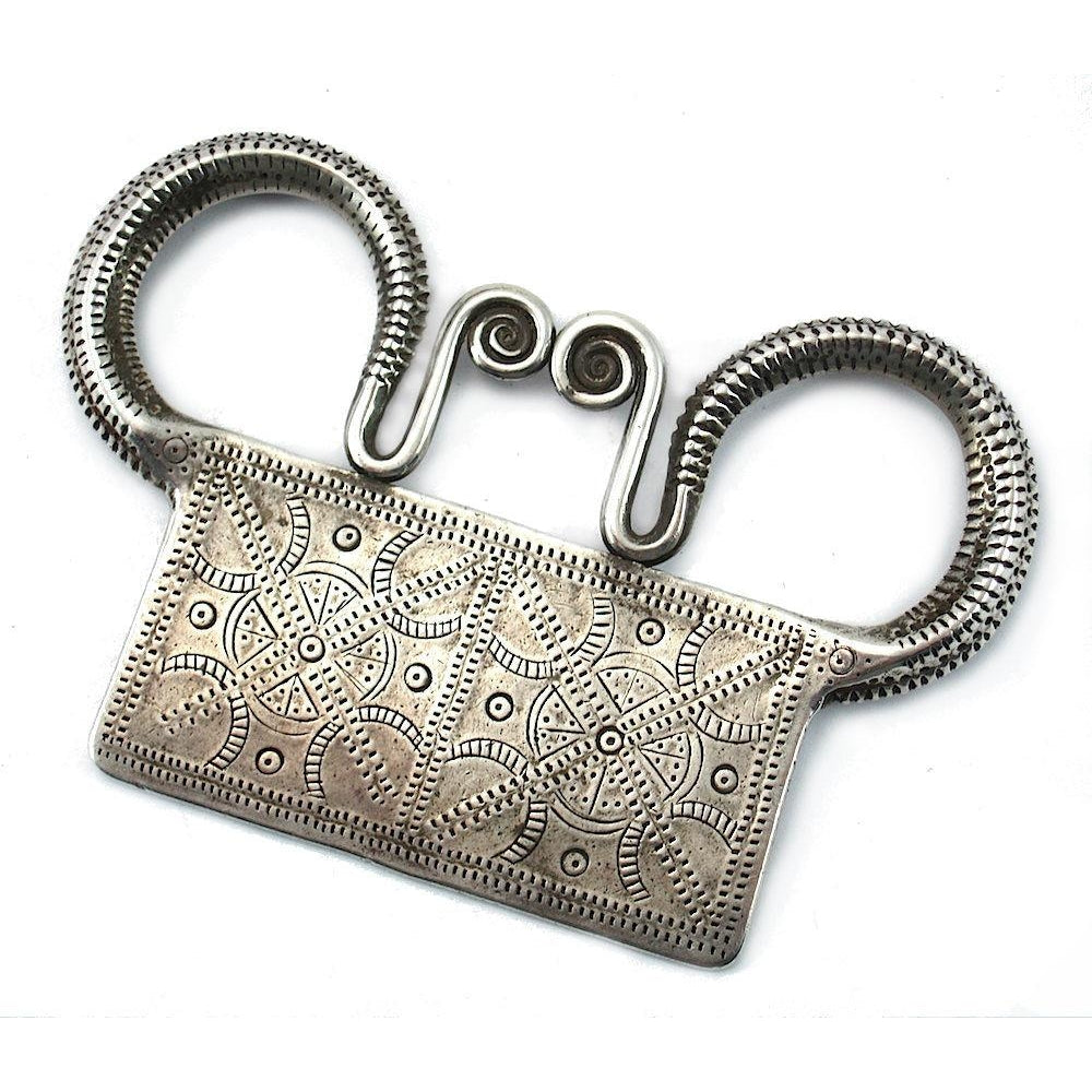 Hmong Spirit Lock Antique 2 from Laos