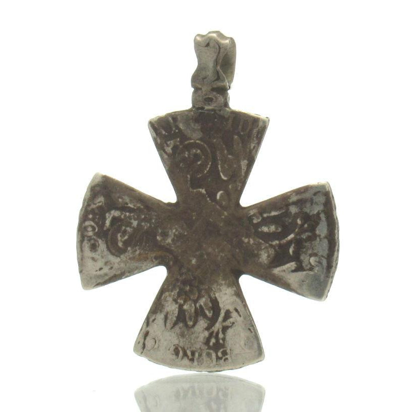 Maria Theresa Dollar Antique Neck Cross #1