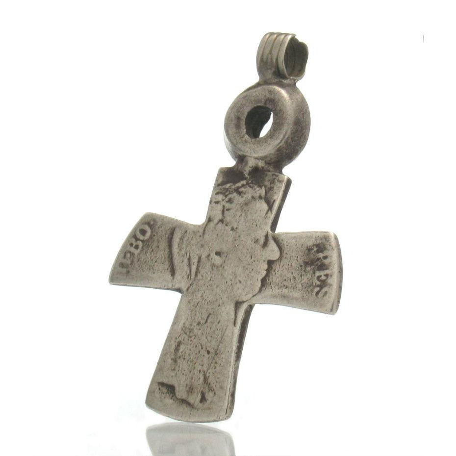 Maria Theresa Dollar Antique Neck Cross #4