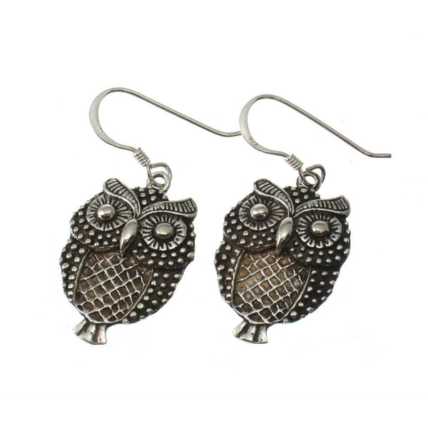 Sterling Silver Filagree Owl