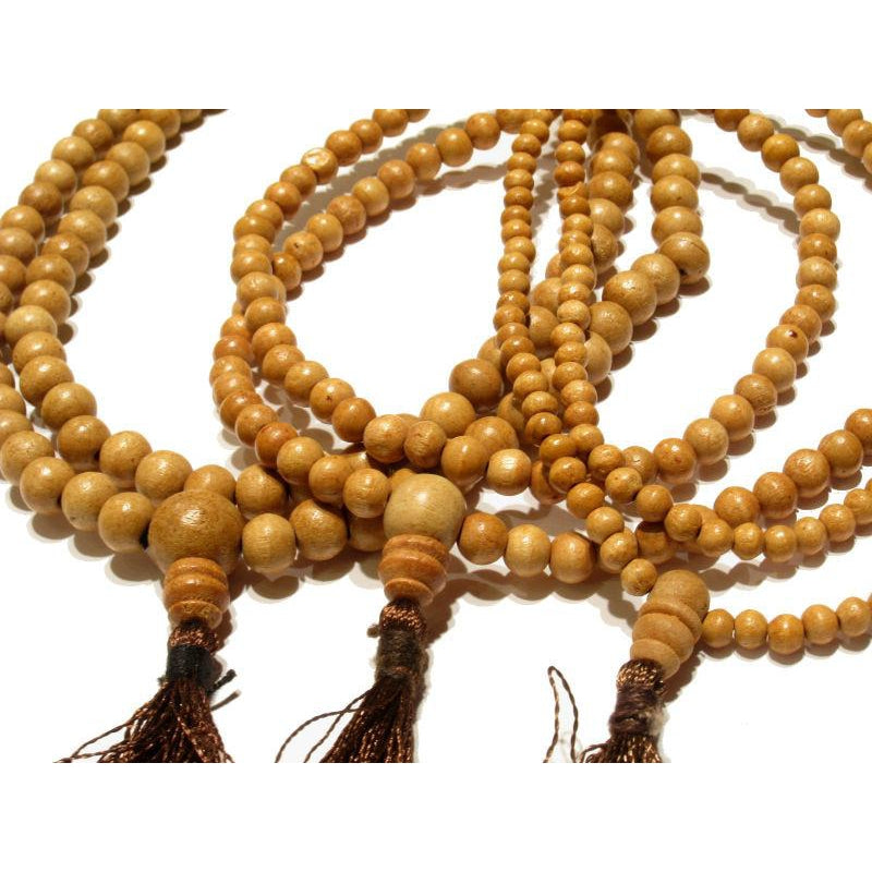 4mm, 6mm, 8mm, 10mm, 12mm Walnut Mala