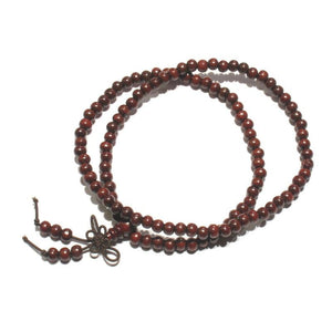 6mm, 8mm Chinese Wooden Mala