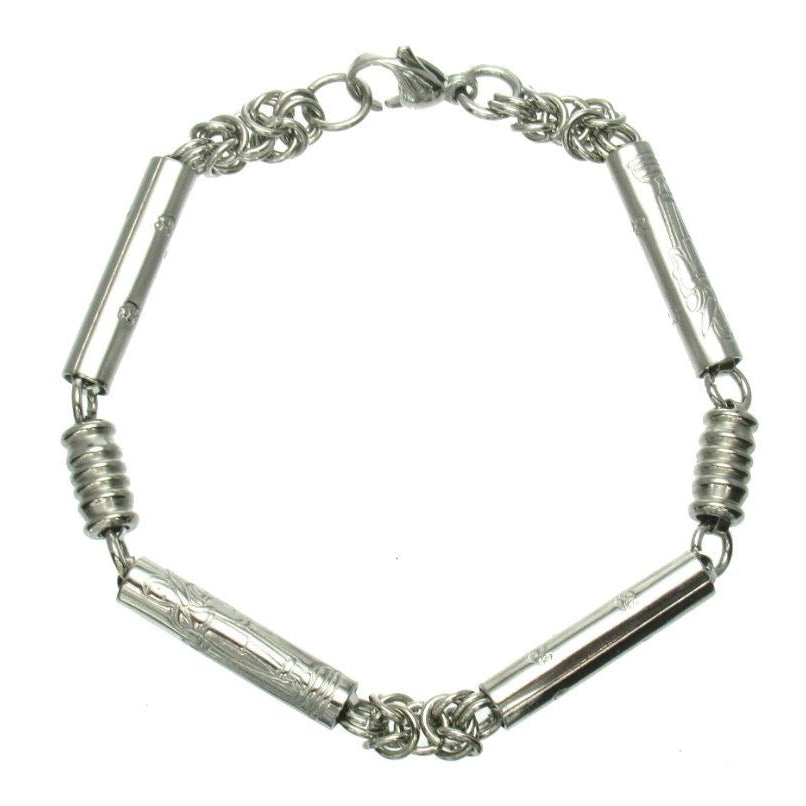 Stainless Steel Walking Monk Chain Bracelet