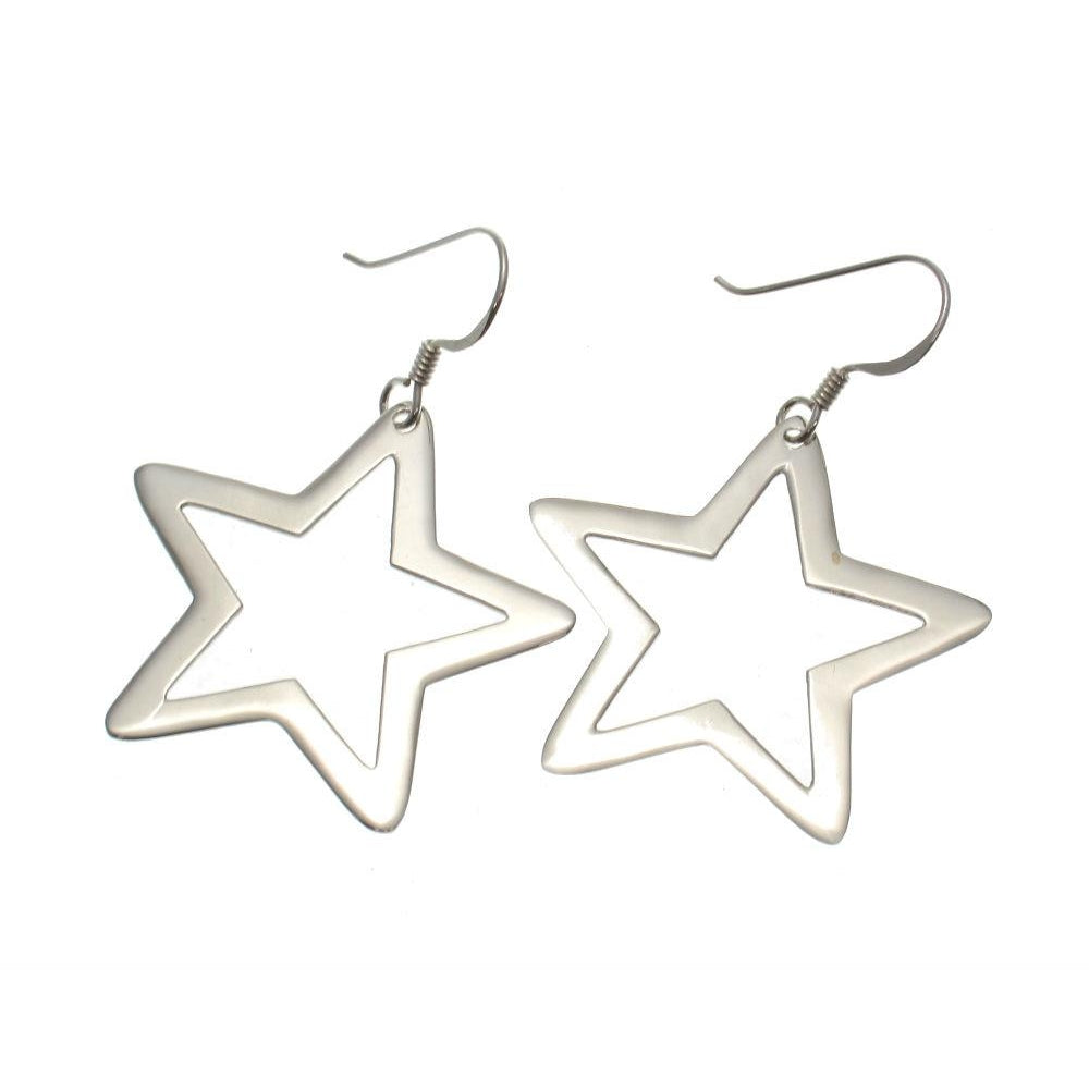 Rock Star Sterling Silver Earrings