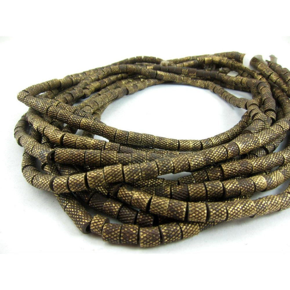 Brushed Brass Barrel Strand
