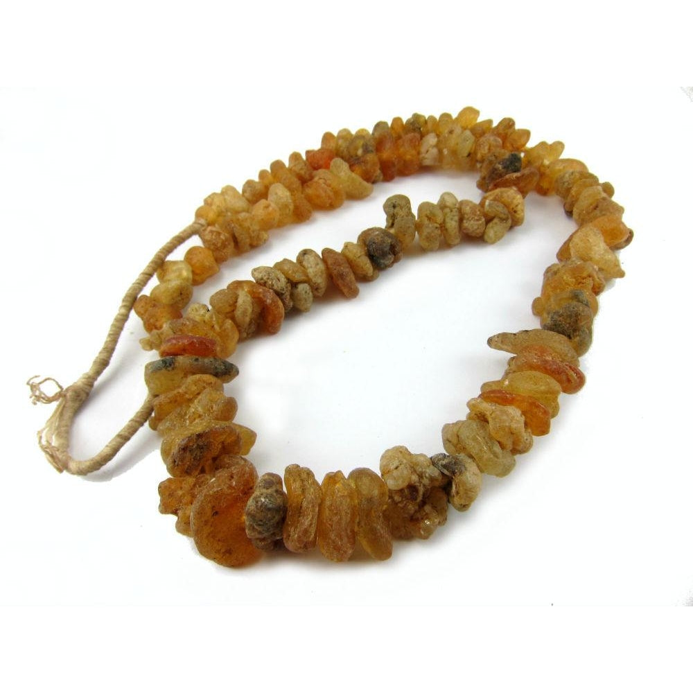 """Water Amber"" Nuggets Strand"