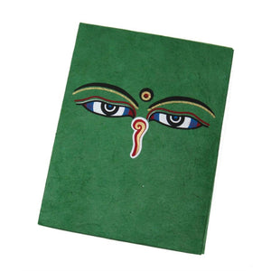 Handmade Greeting Card from Nepal (Buddha Eyes)