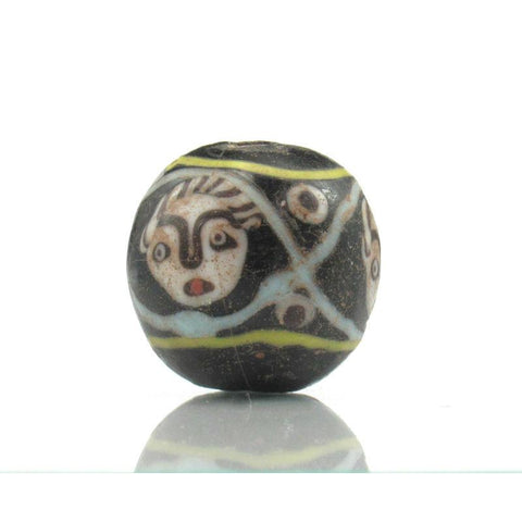 "Contemporary Afghani ""Face"" Bead 2"