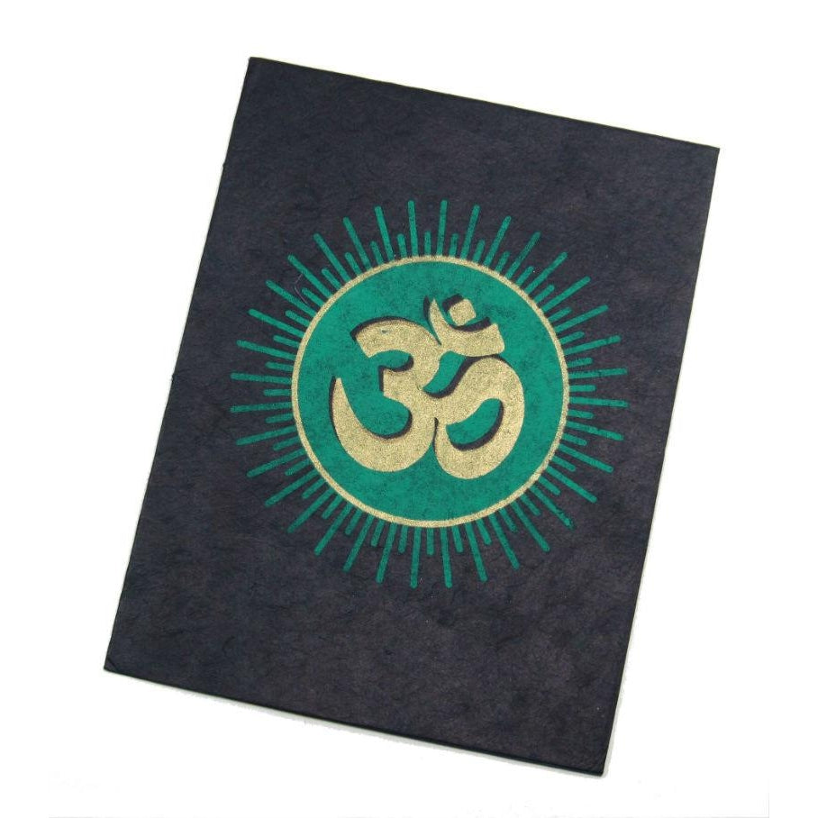 Handmade Greeting Card from Nepal (Om)