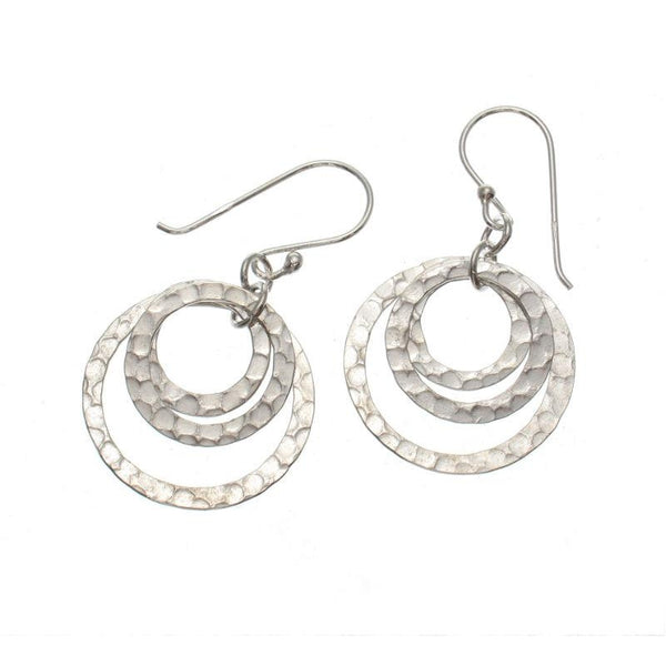Small Triple Occulus Hoop Earrings