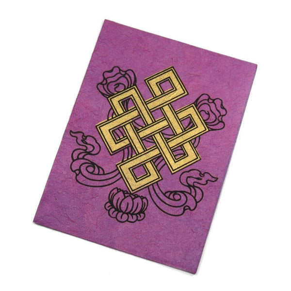 Handmade Greeting Card from Nepal (Infinity Symbol)