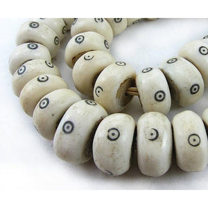 XL Turkana Decorated Bone Beads