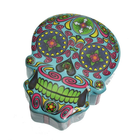 Skull Box, Light Blue