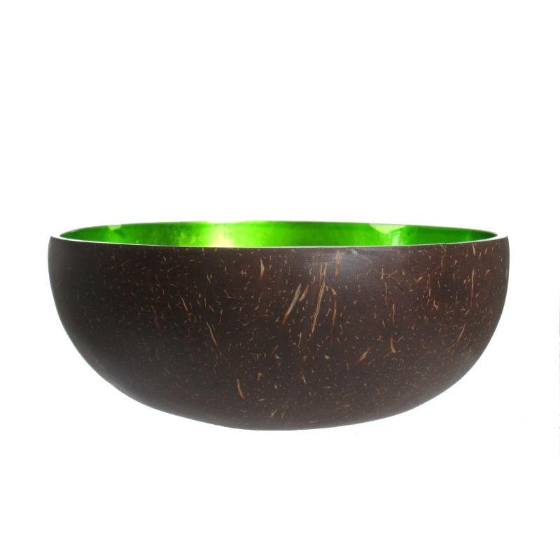 Metallic Lacquer Bowl from Vietnam, Green