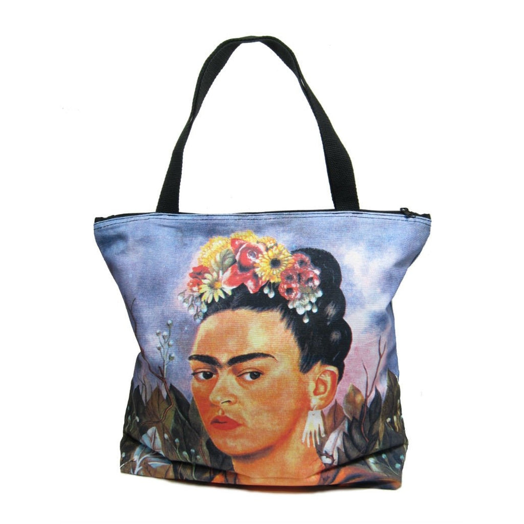 Screen Printed Tote Bag, Frida Kahlo (1)