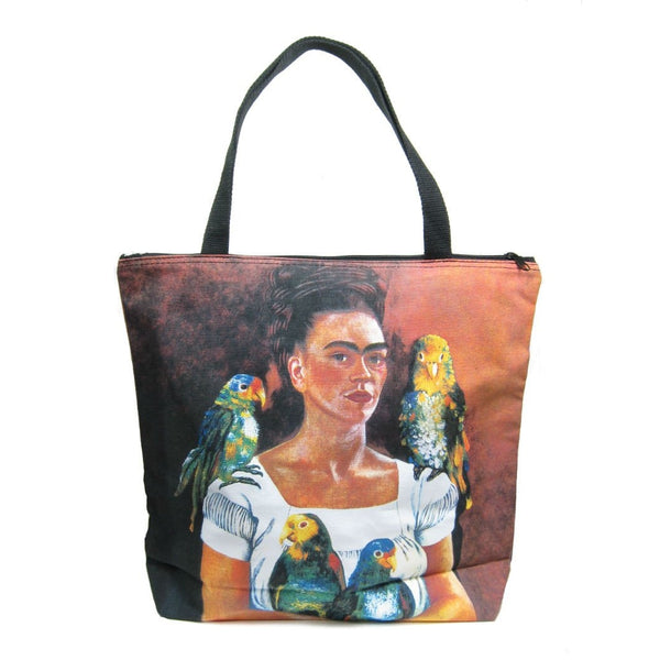 Screen Printed Tote Bag, Frida Kahlo (2)