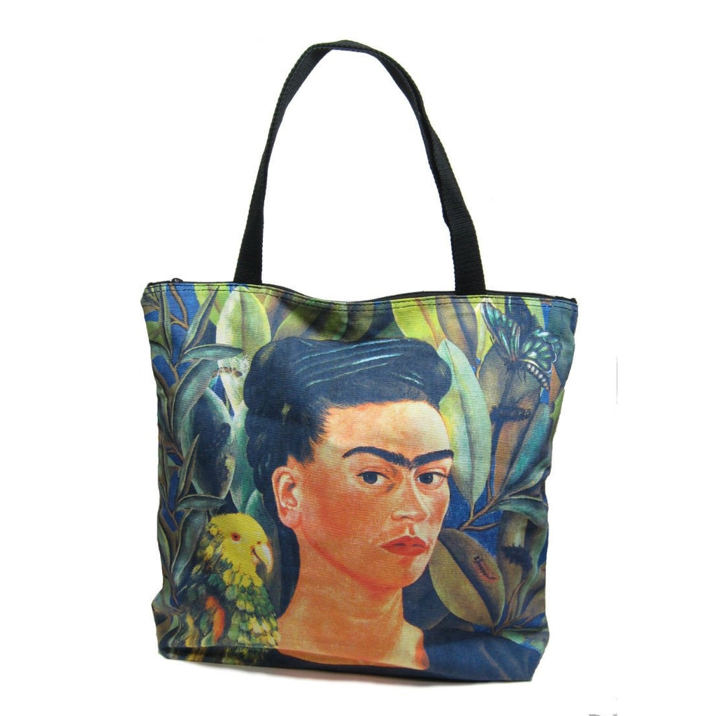Screen Printed Tote Bag, Frida Kahlo (3)