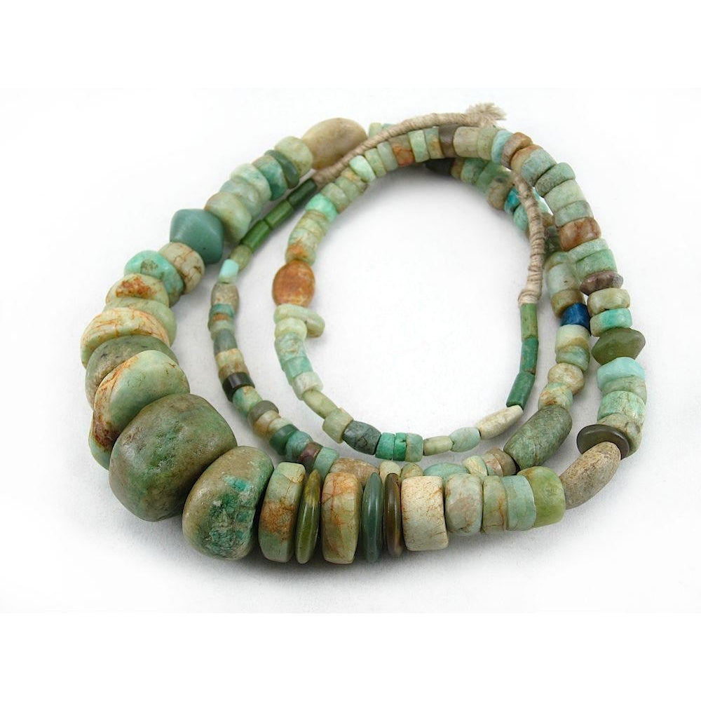 12th - 16th Century Dowry Amazonite Strand from Mali