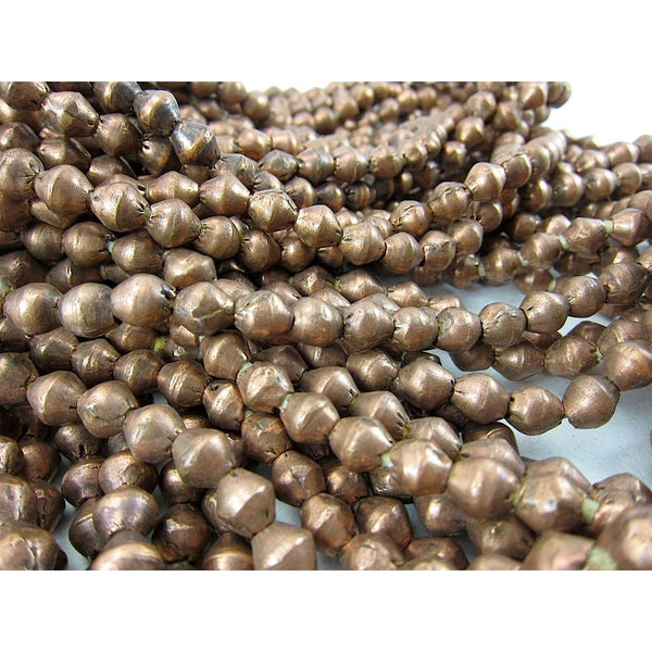 Ethiopian Copper Medium Bicone Strand