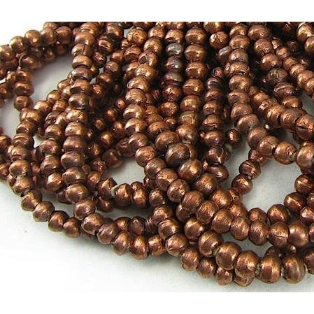Ethiopian Copper Large Round Strand