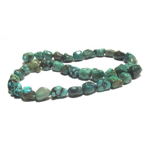 Chinese Turquoise Nuggets Strand
