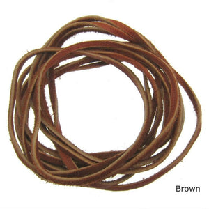 Deer Skin Leather Cord, 5 yards (Click for more colors)