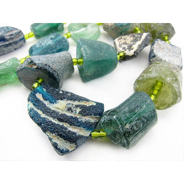Antique Excavated Afghan Glass Beads