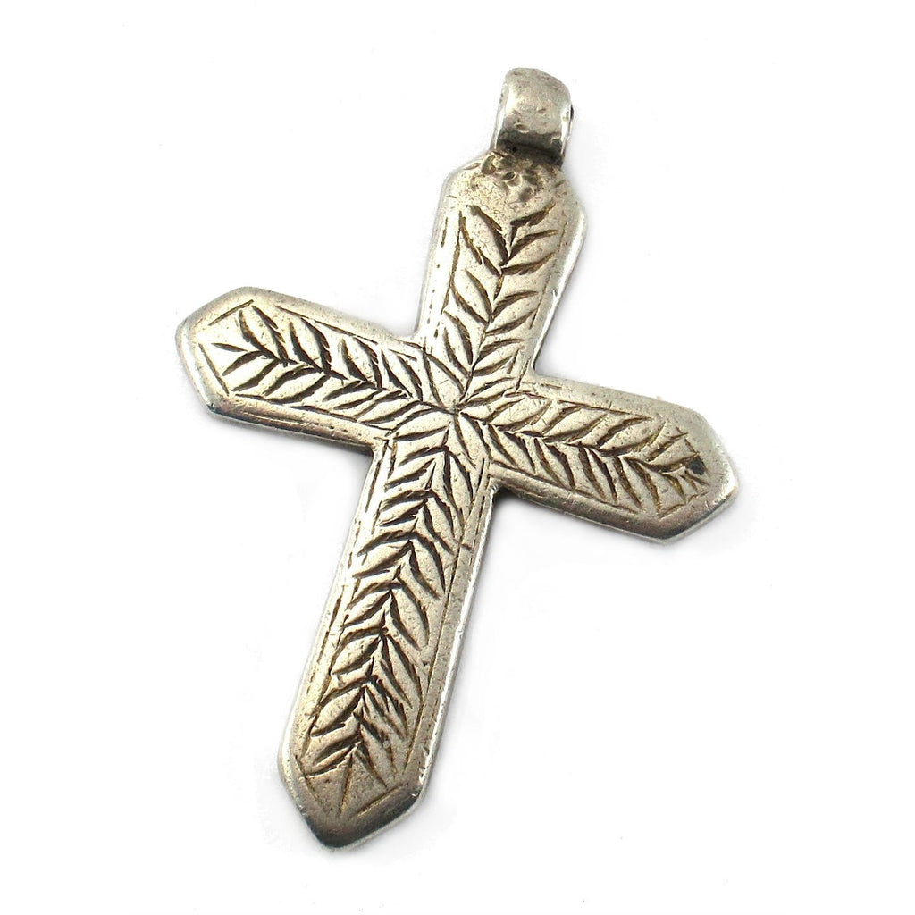 Ethiopian Cross Early 20th Century Pendant #10