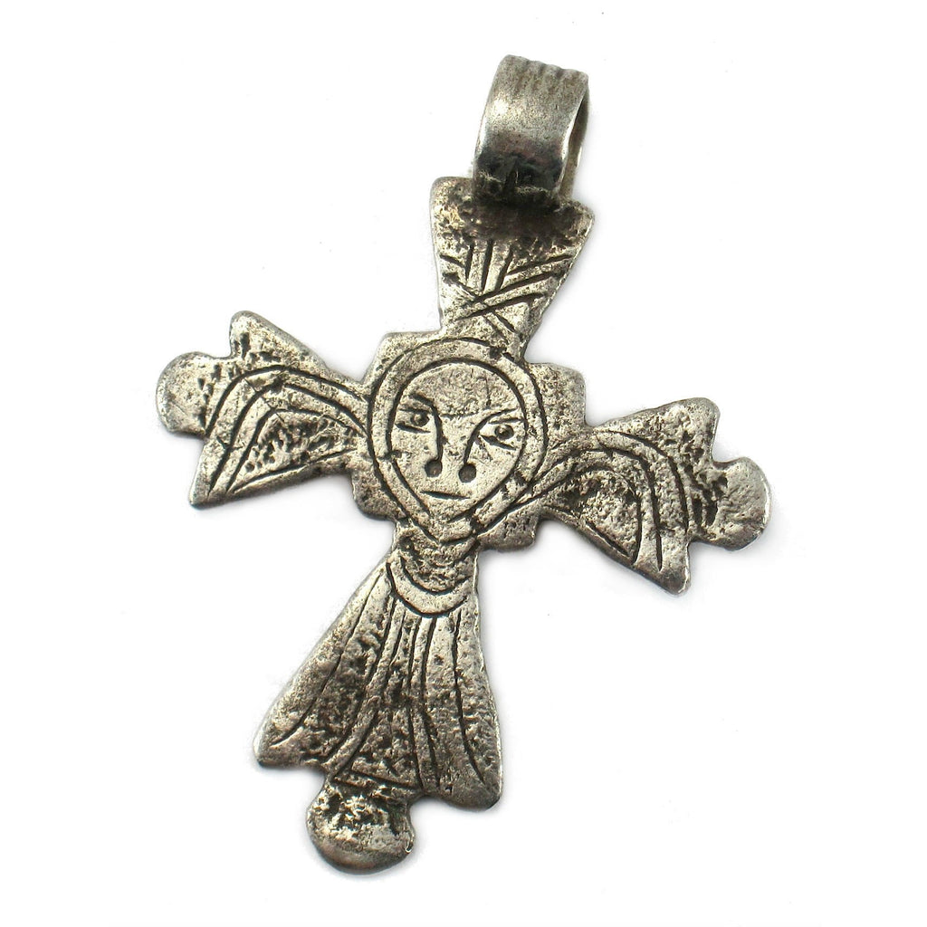 Ethiopian Cross Early 20th Century Pendant #11