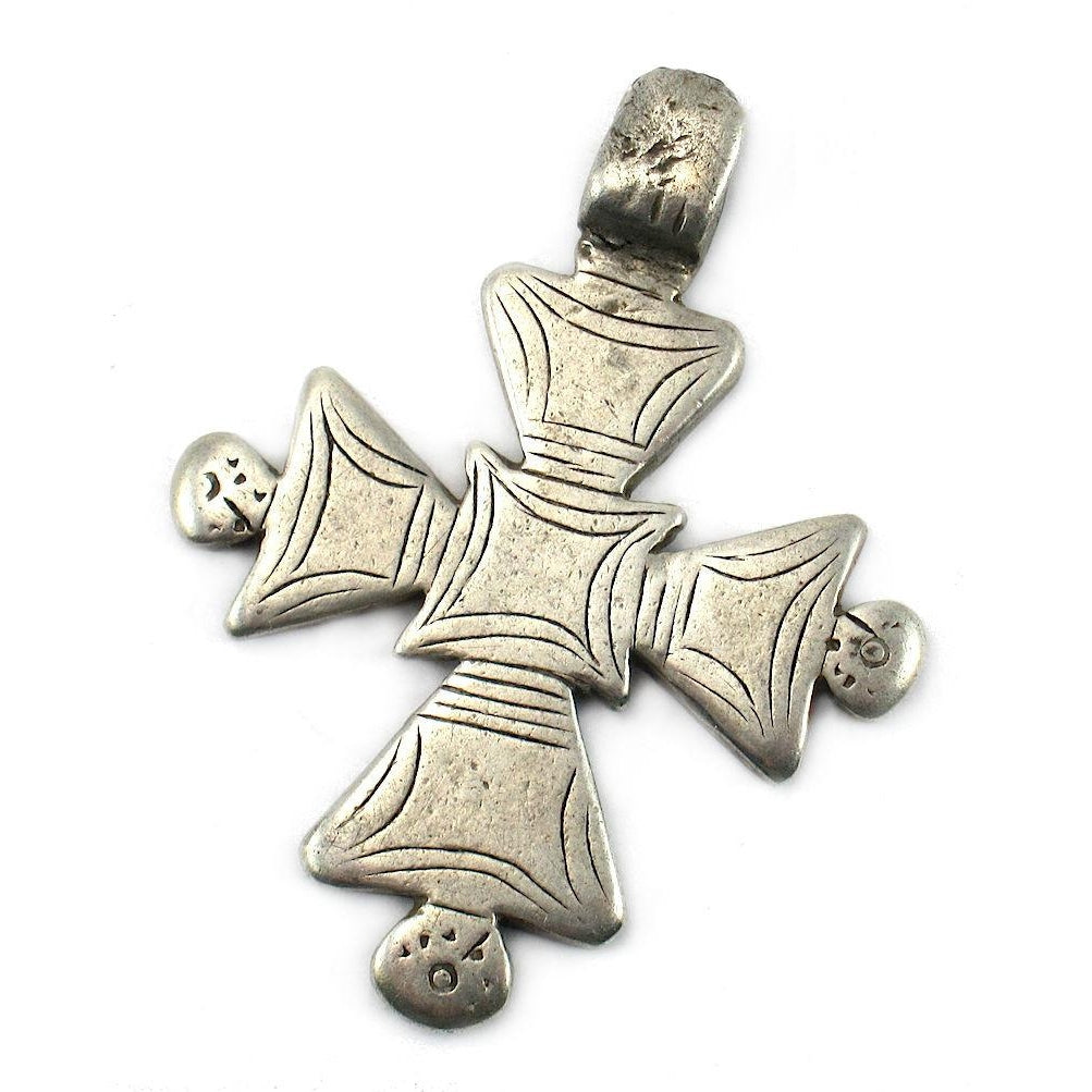 Ethiopian Cross Early 20th Century Pendant #12