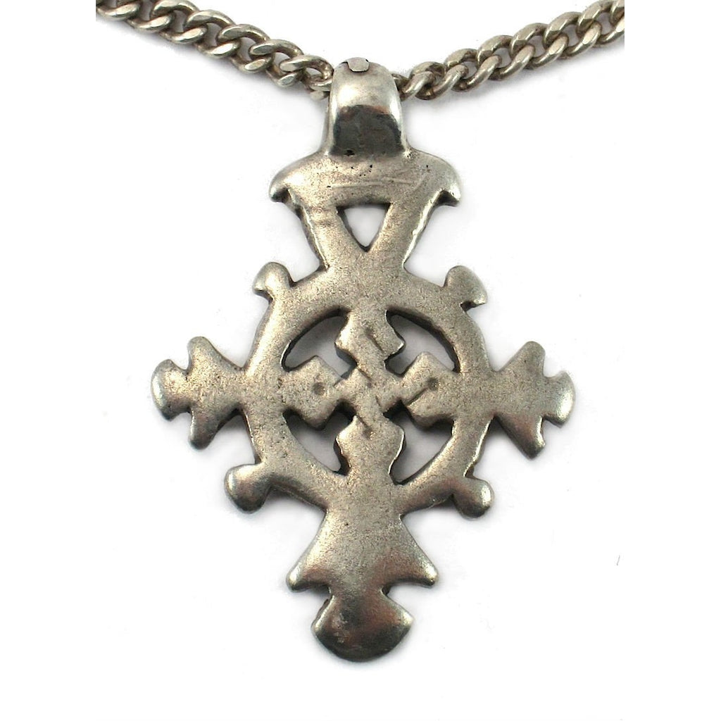 Ethiopian Cross Early 20th Century Pendant #4