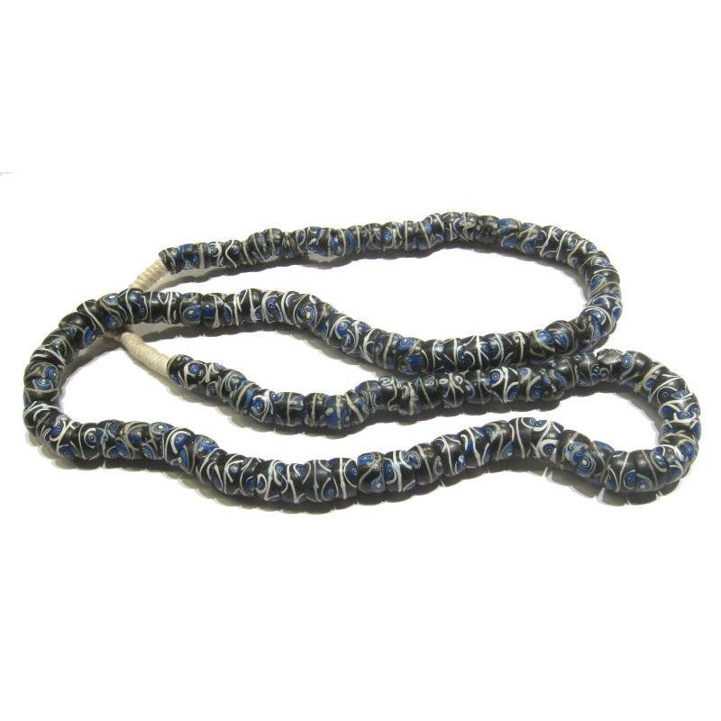"19th Century Venetian Blue ""Eye"" Beads"