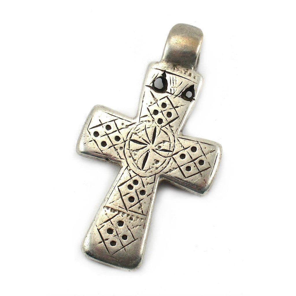Ethiopian Cross Early 20th Century Pendant #14