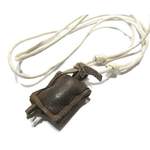 Nepali Leather Amulet Necklace