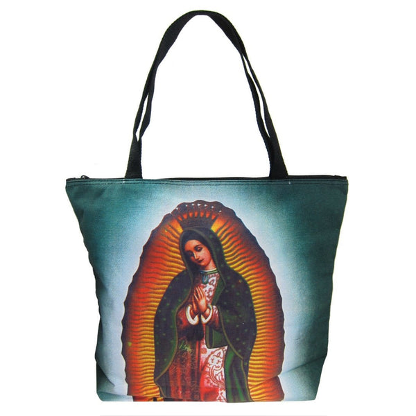 Screen Printed Tote Bag, Virgin of Guadalupe