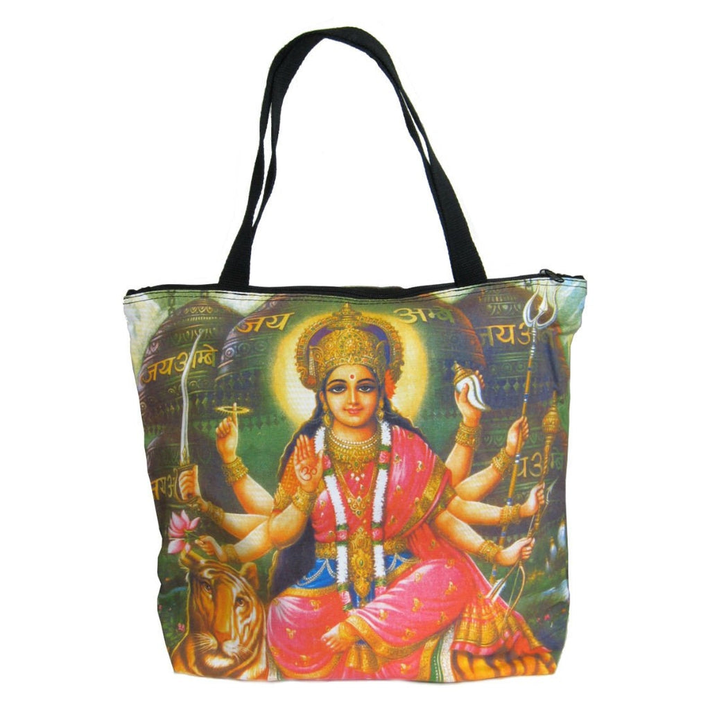Screen Printed Tote Bag, Durga