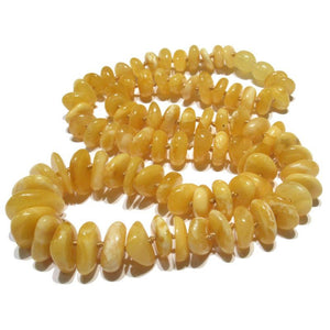 Butterscotch Amber Nugget Strand/Necklace