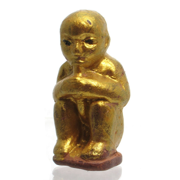 Terracotta Kuman Thong Golden Boy Statue