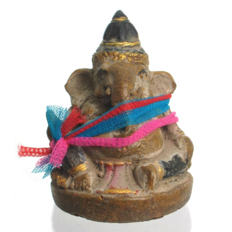 Ganesha Cast Terracotta Figure