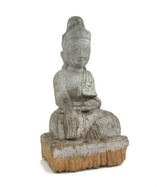 Buddha Statue Antique Chinese Style ca. 1920-40