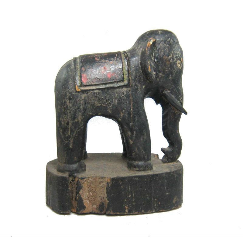 Antique Elephant Figure-04