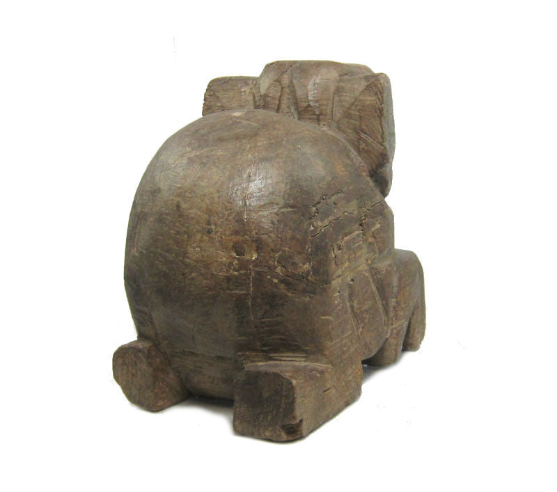 Antique Elephant Figure-05